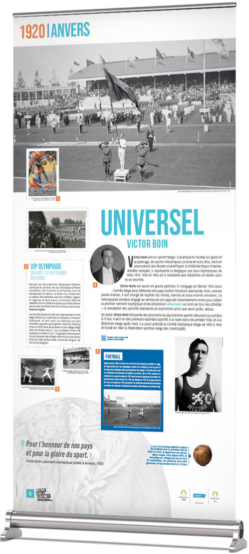 Rollup 1920 - Anvers - Universel - Victor BOIN