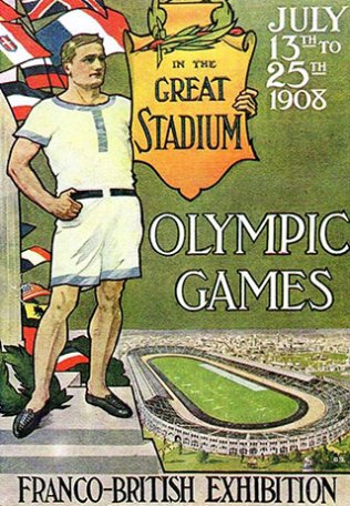 Image Olympic Games. In the Great Stadium.